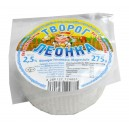 Fromage blanc russe, 2,5% Mat.g., 275g.