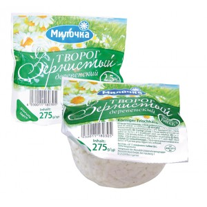 Fromage blanc russe 2,5% mat.gr., 275g.