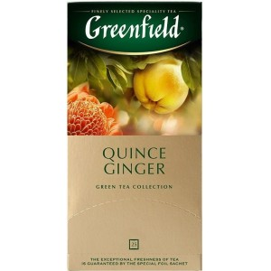 """Чай """"Greenfield"""" Quince Ginger, 25x2г."""