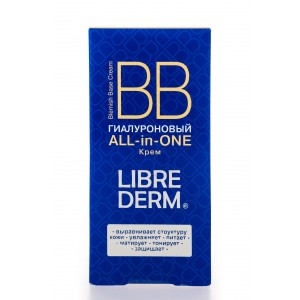 "LIBREDERM Гиалуроновый BB крем ""ALL in ONE"", 50 мл"